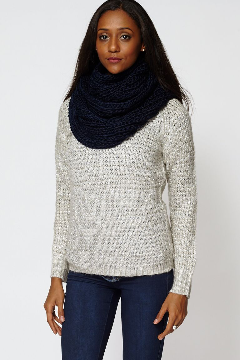 Soft Knit Infinity Scarf Snood	 £6.65