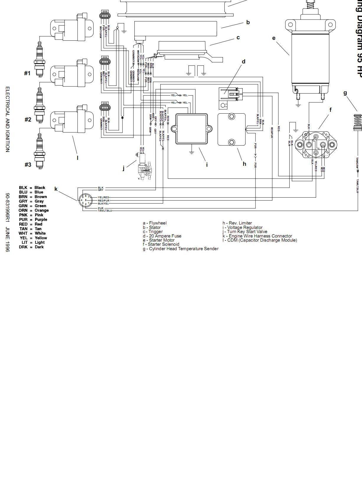 50 Wiring Diagram For Mercury Outboard Motor Yc0r Di