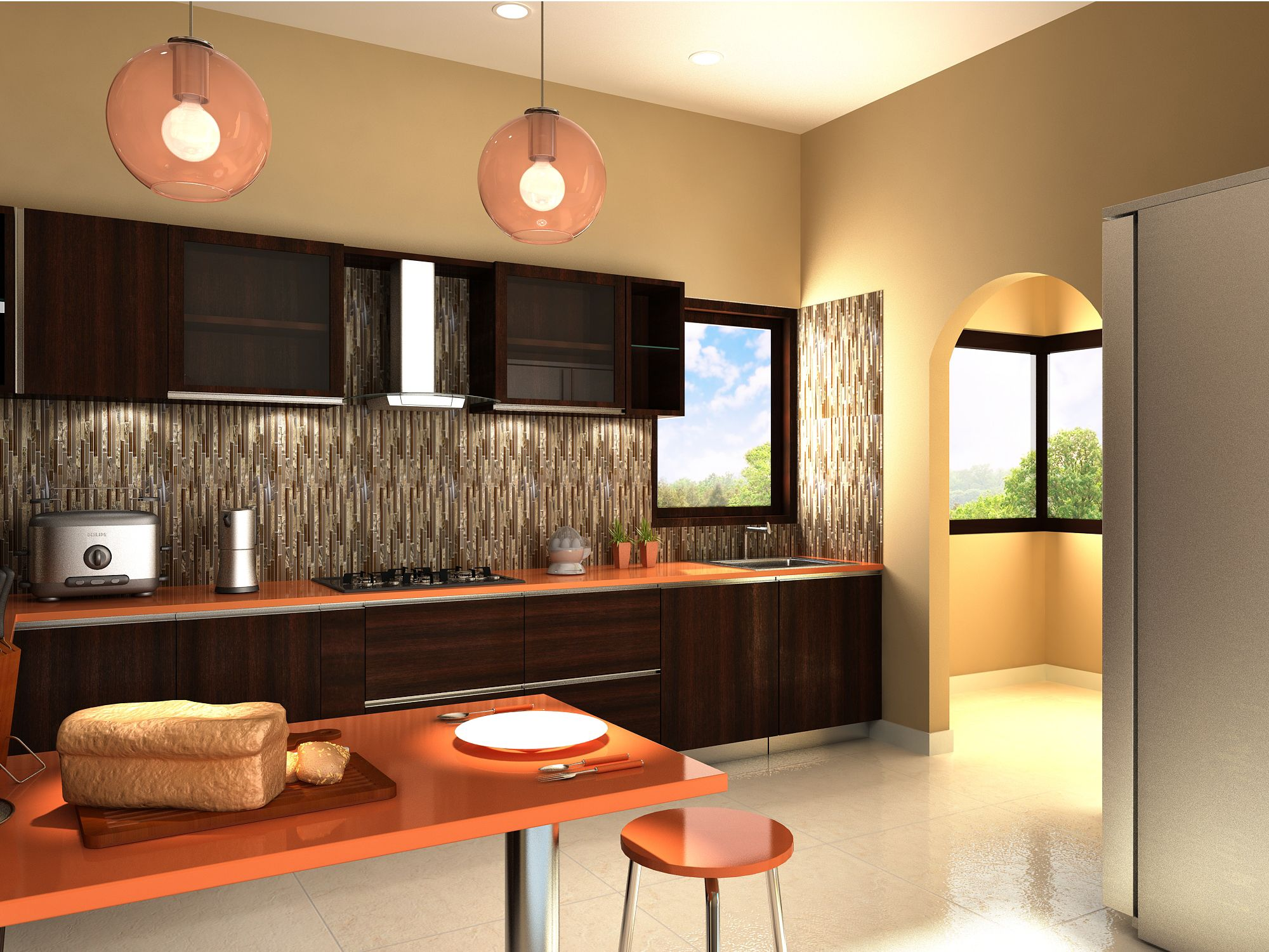 Interior design for our home - Girgit Is The Best Interior Designer In Bangalore They Come Up With The Different Interior Design To Your Home Just Look The Beautiful Kitchen Interior