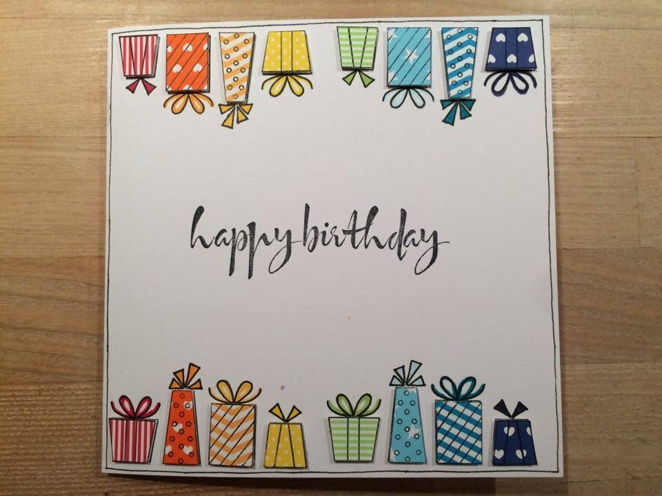 Best 12 Diy Birthday Cards Ideas Skillofking Com Watercolor