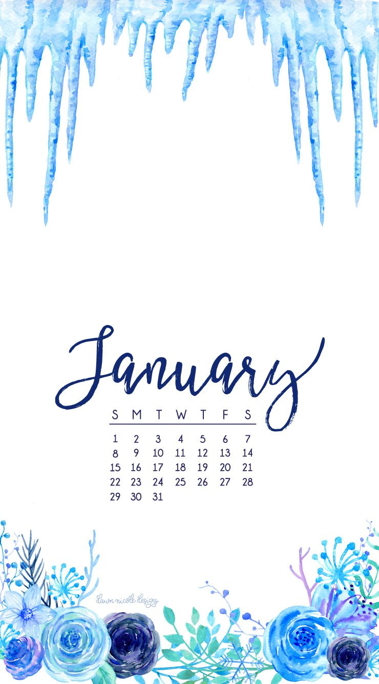 Fr fr free january 2017 desktop wallpaper - January 2017 Calendar Phone Dnd Jpg 740 1334