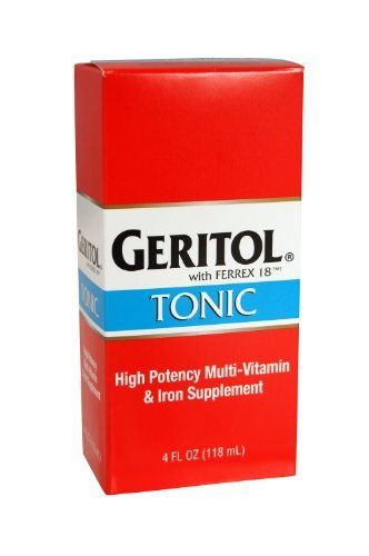 how many geritol pills to take a day