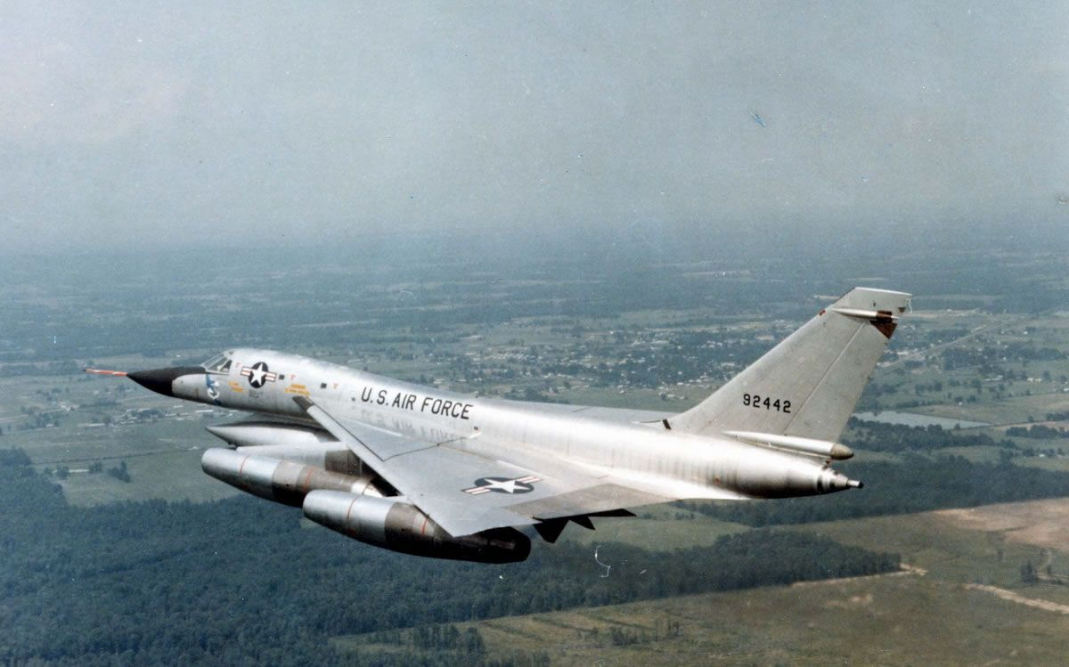 The aircraft was designed by Convair engineer Robert H. Widmer and developed for the United States Air Force for service in the Strategic Air Command (SAC) during the 1960s. Description from deviantart.com. I searched for this on bing.com/images