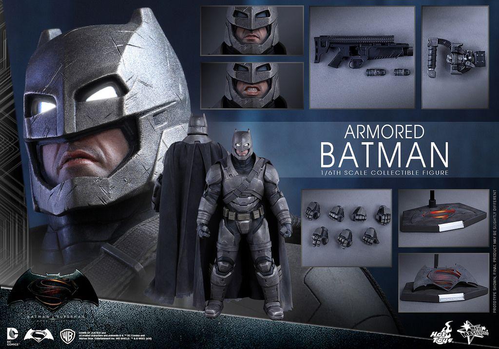 Hot Toys – MMS349 – 蝙蝠俠對超人:正義曙光【重裝蝙蝠俠】Armored Batman 1/6 比例人偶作品 | 玩具人Toy People News