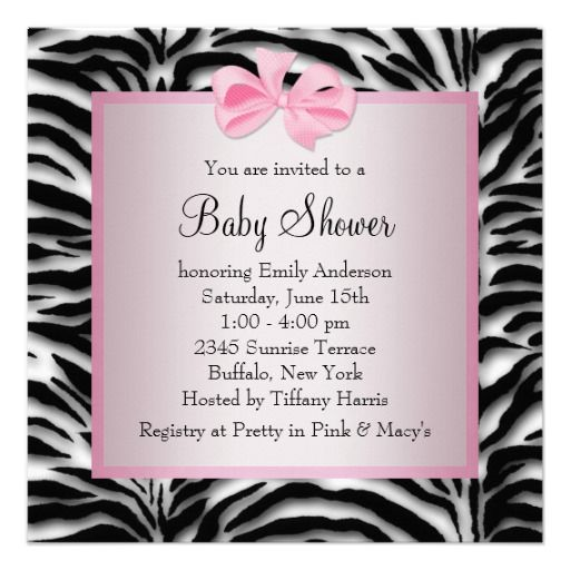 Pink black shoes pink zebra baby shower custom invitation from pink black shoes pink zebra baby shower custom invitation from zazzle filmwisefo Gallery