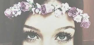Resultado de imagem para coroa de flores tumblr