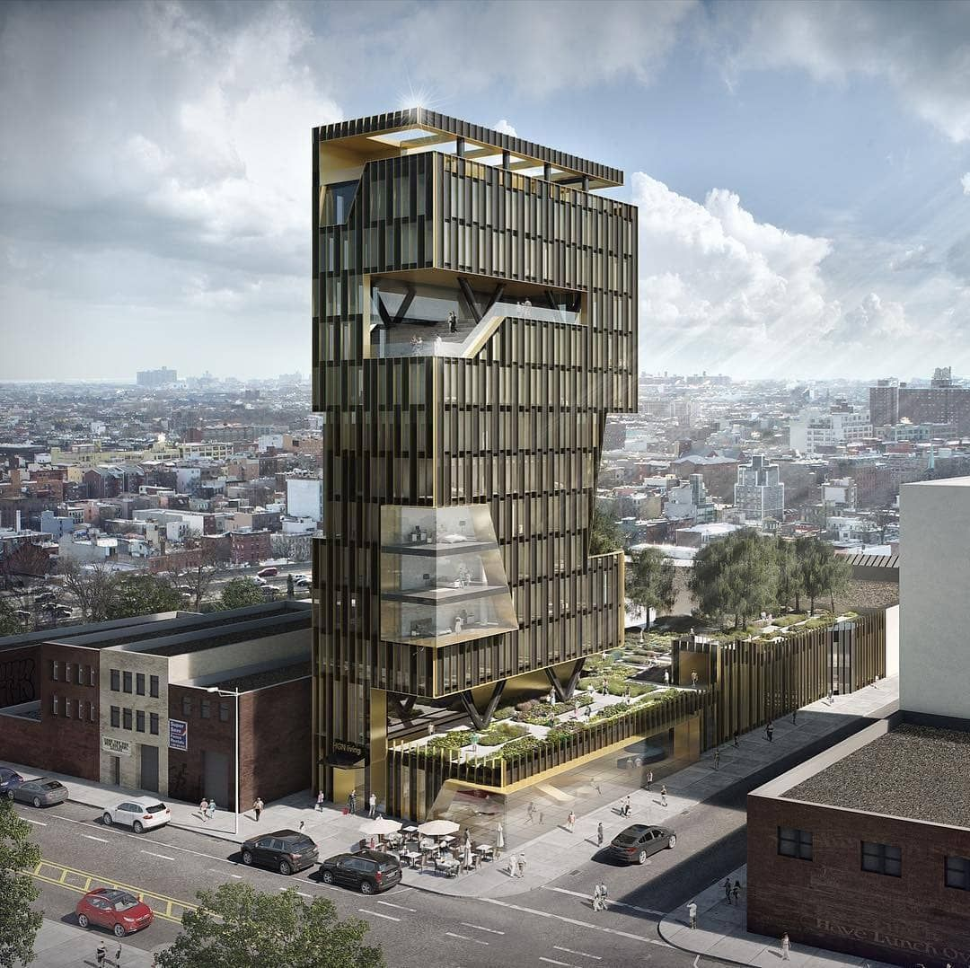 Cool Design For A 120 Key Hotel Planned Across From The Brooklyn