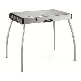 Weber Steel Gray Steel Folding Grill Stand 7445 Grill Stand