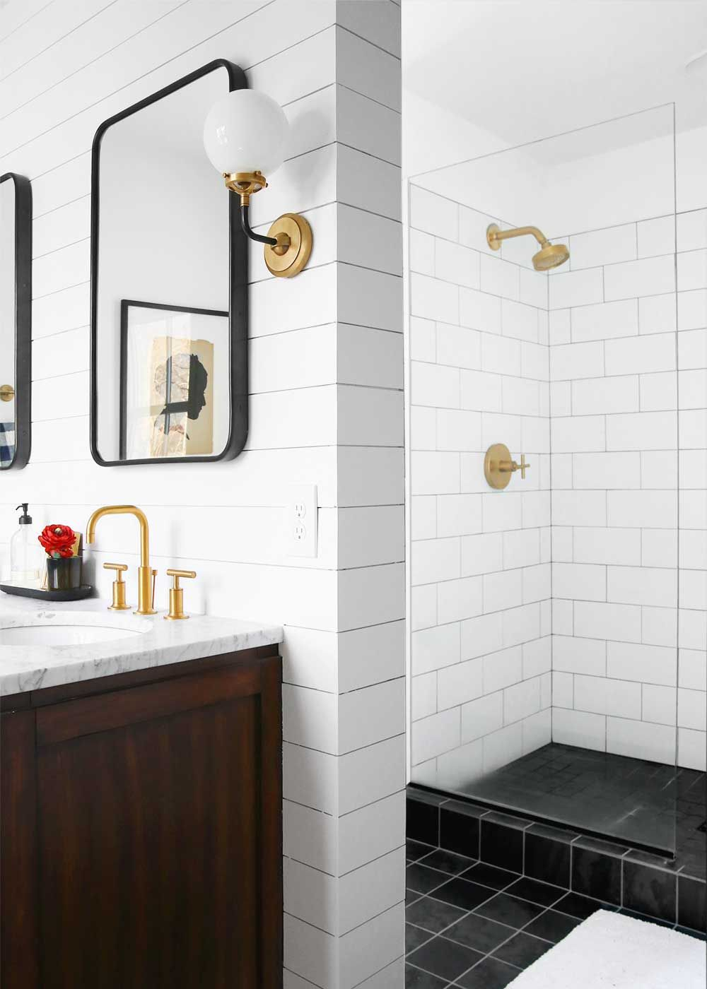 Minimal Masculine Master Bathroom | Master bathrooms, Bathroom ...