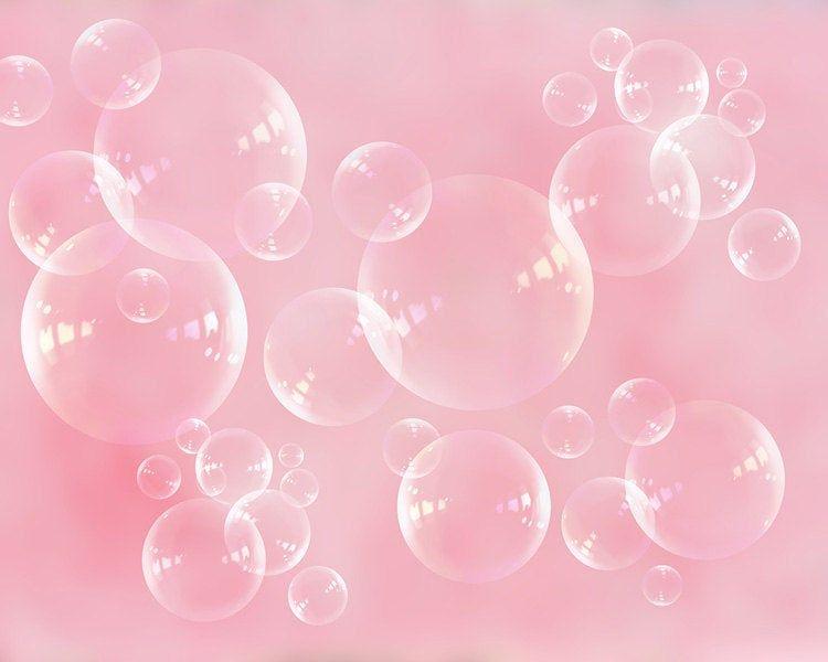 Bath Decor, Bubbles Photography, Pink Nursery Decor, Soap-bubbles, Laundry Room, Baby Girls Room Light Pink, Soap Bubbles, Abstract Art