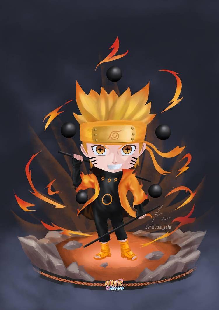 Naruto Rekudo Shenin Chibi By Huum Lala By Ngidem On Deviantart Chibi Cute Kawaii Animals Mobile Legend Wallpaper