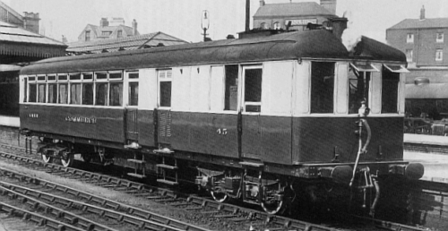 Sentinel Steam Railcar Tin Hares And Other Railmotors