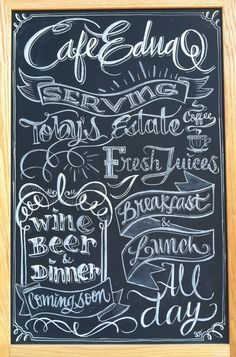 chalkboard beer sign google search