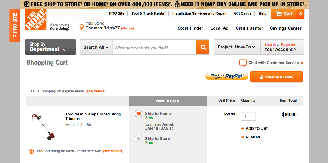 Home Depot How to Get 10 Military Discount ONLINE