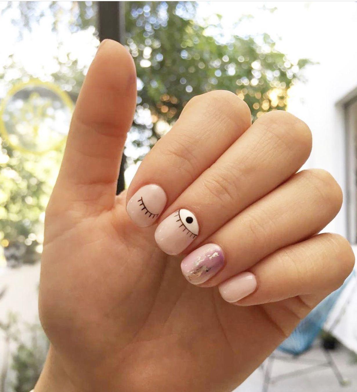 Pin de cole en Paint (con imágenes) | Diseños de uñas ...
