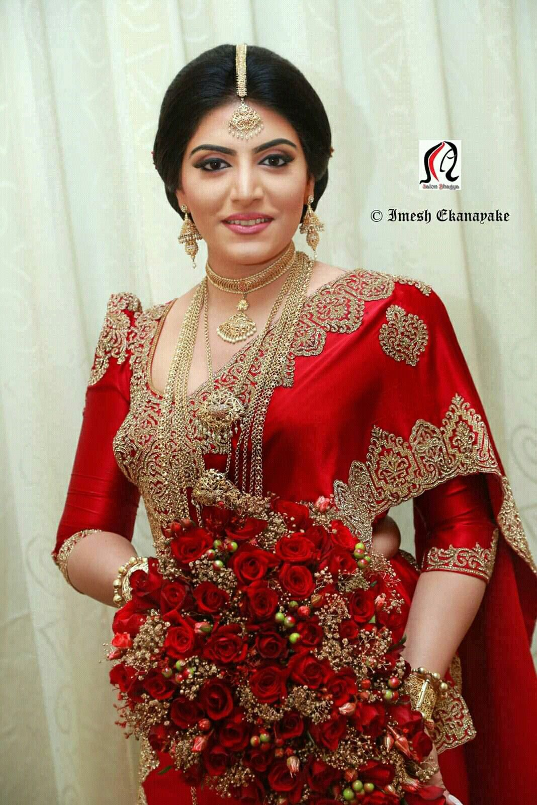 Dressed By Salon Bagya Sari Wedding Dresses Bridal Dresses Indian Bridal Fashion