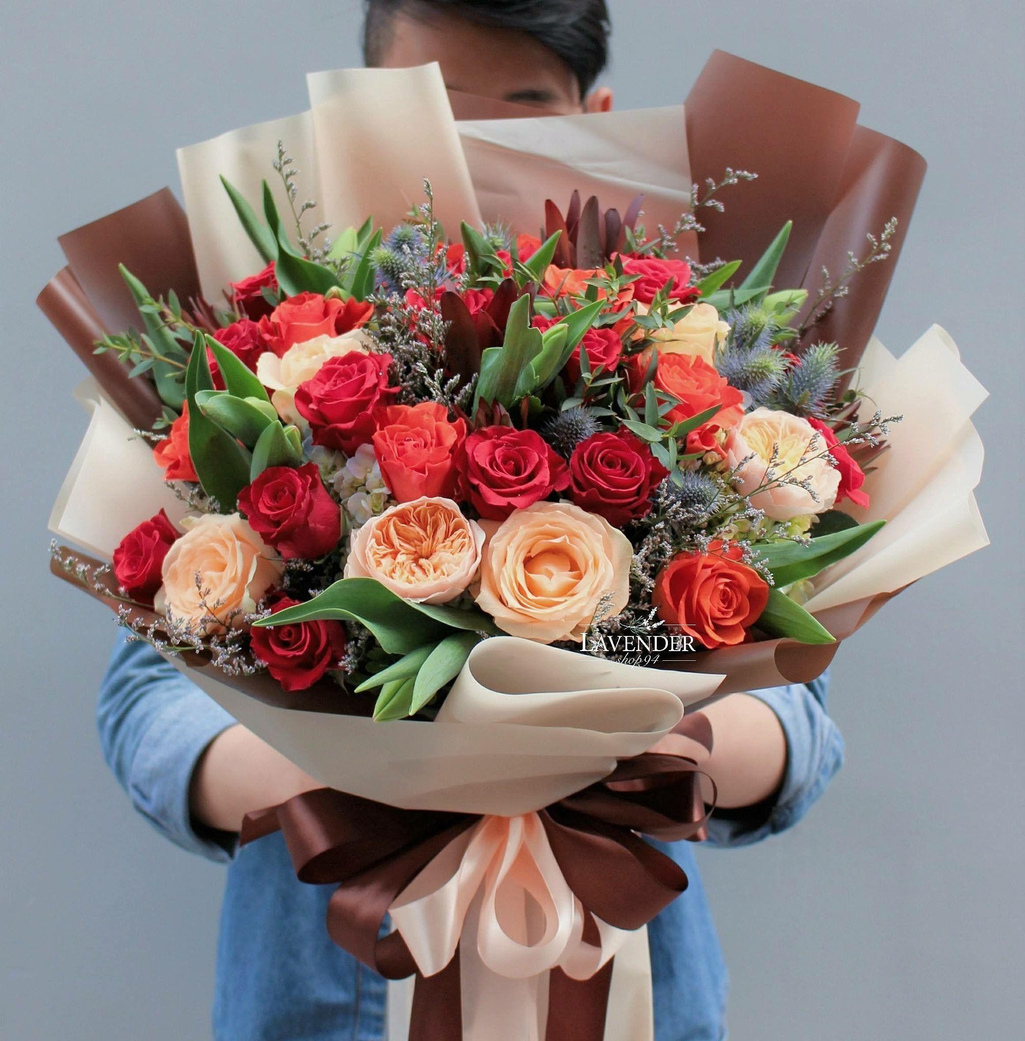 ради букет цветов в подарок фото концепция