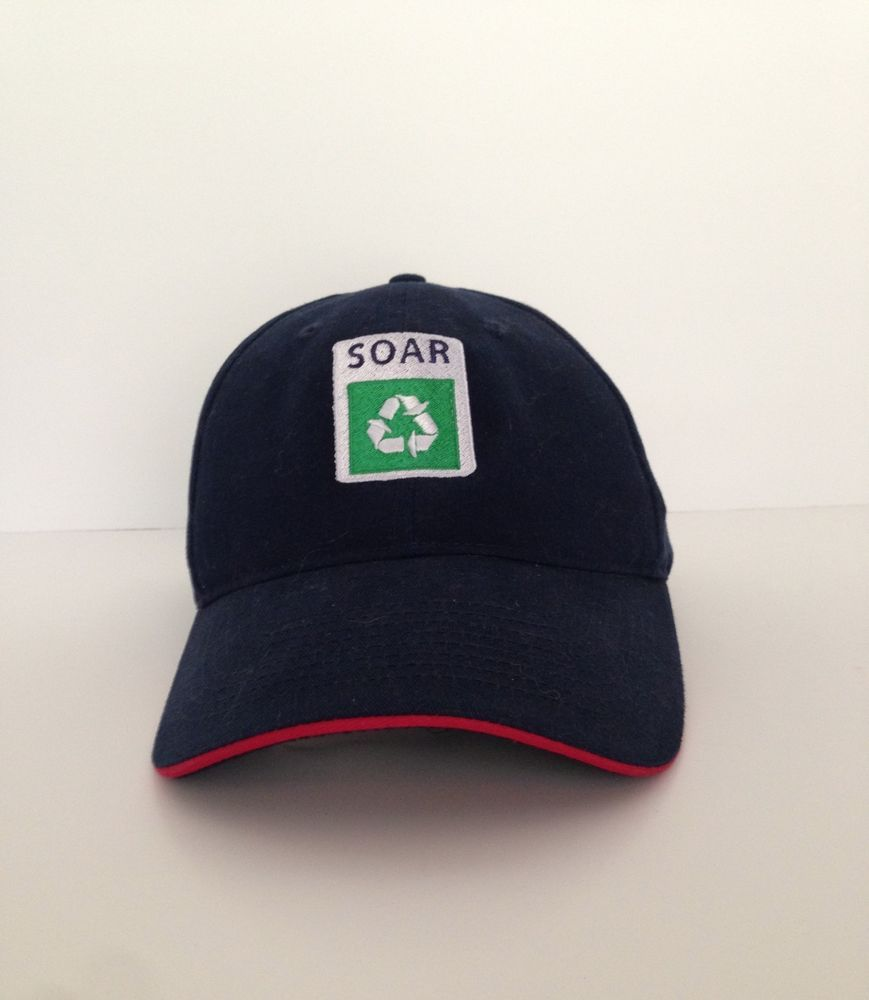 SOAR Recycling Cap United States Postal Service Hat Blue Collectable ... dad1b2ece1d