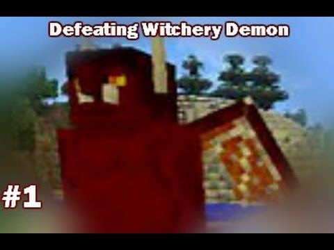 How to Defeat the Demon (Witchery Bosses #1) #gaming #minecraft