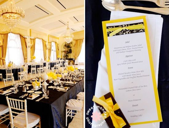 Navy And Yellow Wedding Workout Ideas