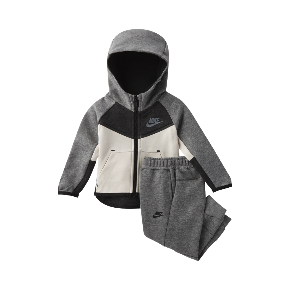 790160682 Nike Tech Fleece Two-Piece Infant Toddler Set Size 12M (Grey ...
