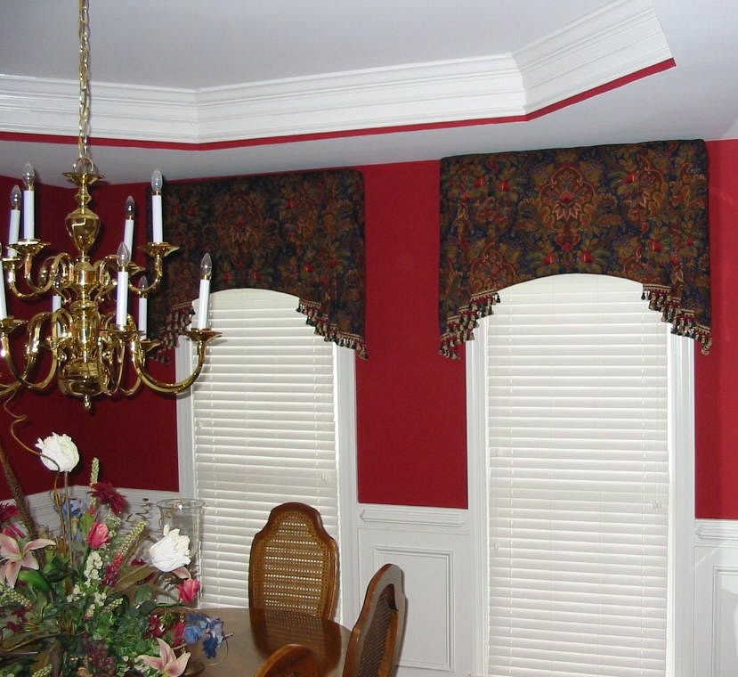 """ Cornice Boards Add Charm To Your Window Curtains Drapes"