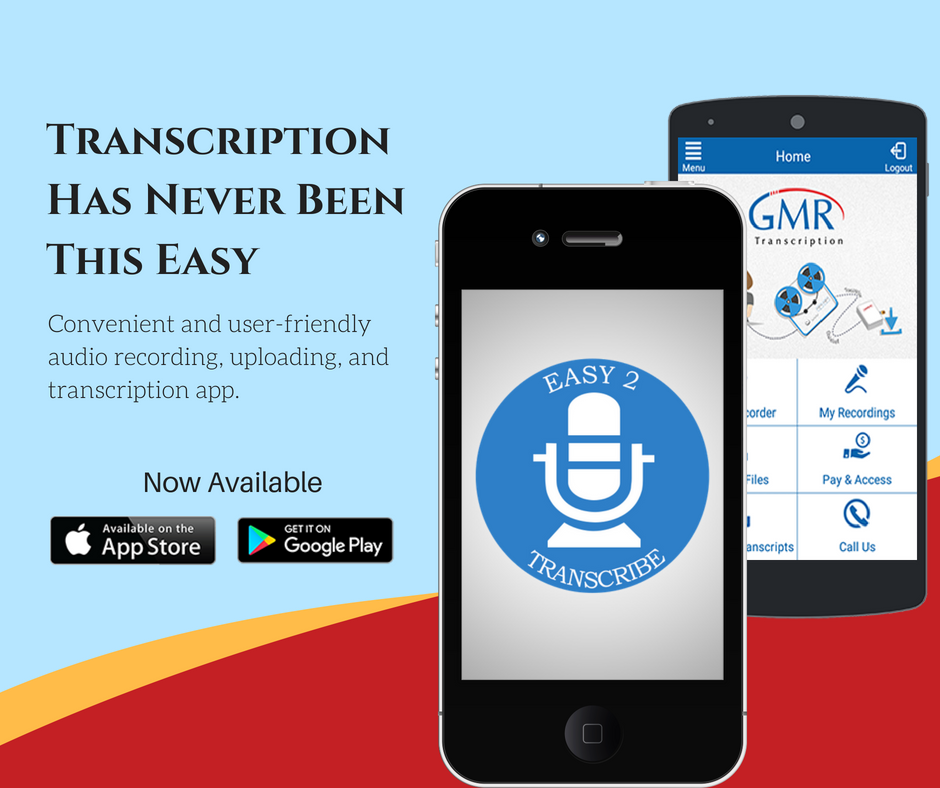 Transcription Has Never Been This Easy. Convenient and