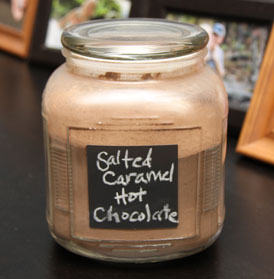 Market to Meal: Salted Caramel Hot Chocolate Mix - Work - Hot Chocalate #hotchocolaterecipe