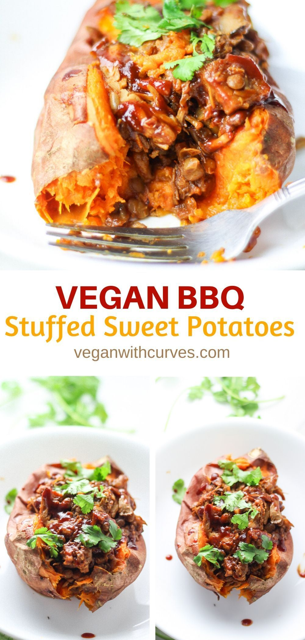 Bbq Vegan Stuffed Sweet Potatoes Recipe In 2020 Vegan Lunch Recipes Vegan Dinner Recipes Bbq Recipes