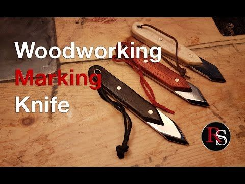 Woodworking Marking Knife Woodworking Knife Making Cool Things To Make
