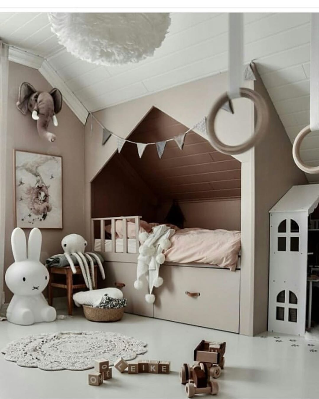 Scandinavian Interiordesign Colors: Credit: Kidsroomgoal #nursery #beautifulnursery