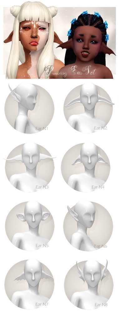 Photo of Fantasy Ear Set by shuisims via tumblr    Sci-Fi +… – #Ear #fantasy #scifi #Se…