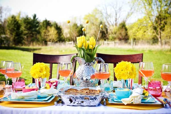 Spring Inspired Family Brunch Party Idea
