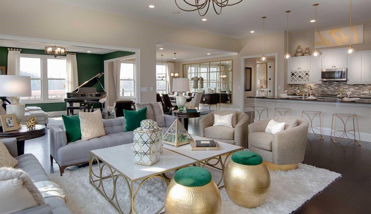 Kolter Homes Florida Home Builder Cresswind Peachtree City Home New Living Room Florida Home