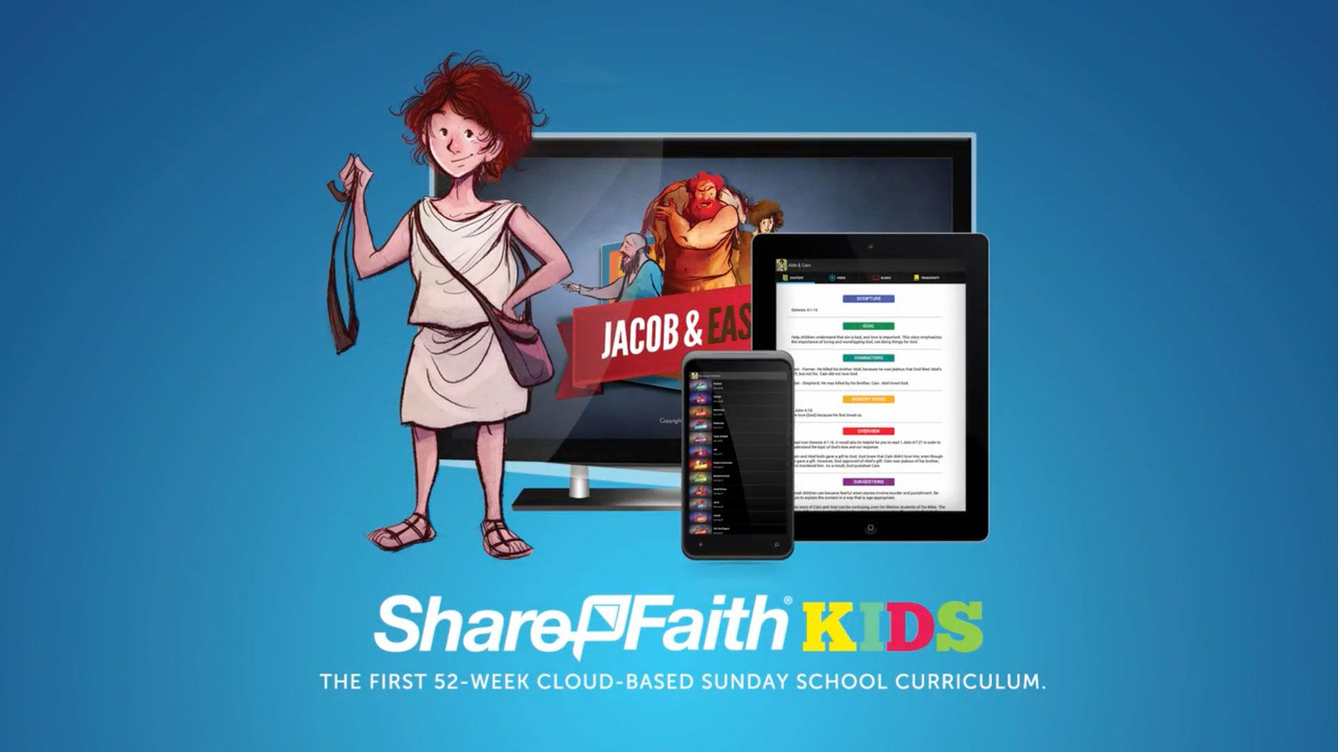 Sunday School Curriculum | SharefaithKids.. prepare and present within the app