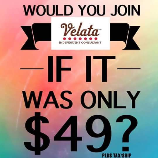 Only $49 to join in the month of August! Contact me today! https://amberjreed.velata.us/