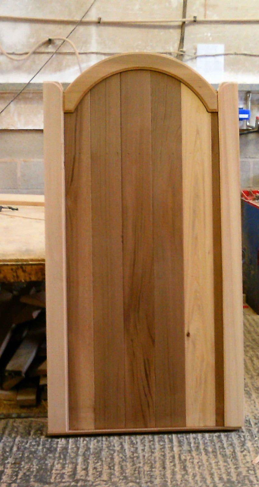 Cedar Bow Top Wooden Garden Gates | Gate | Pinterest | Timber gates ...