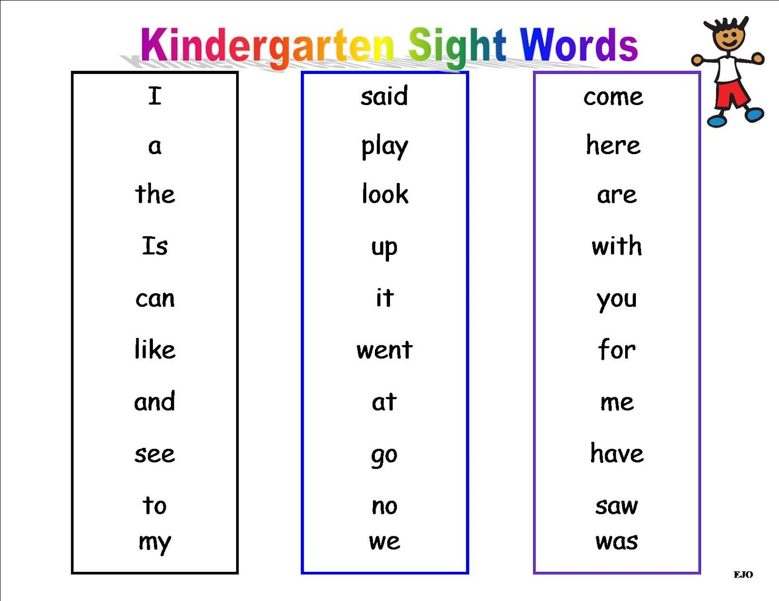 Worksheet What Are Sight Words For Kindergarten journeys sight words kindergarten site words