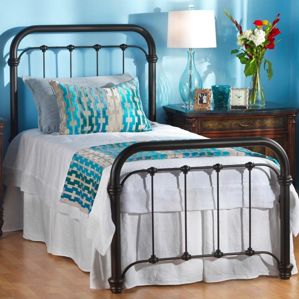 similar 650 braden iron bed by wesley allen black suede finish