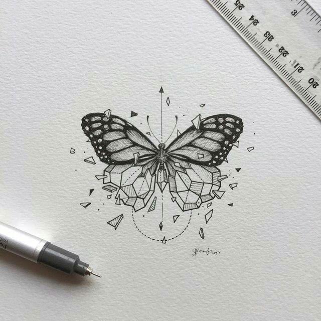BUTTERFLY (Geometrical Beast 04/55 by Kerby Rosanes)