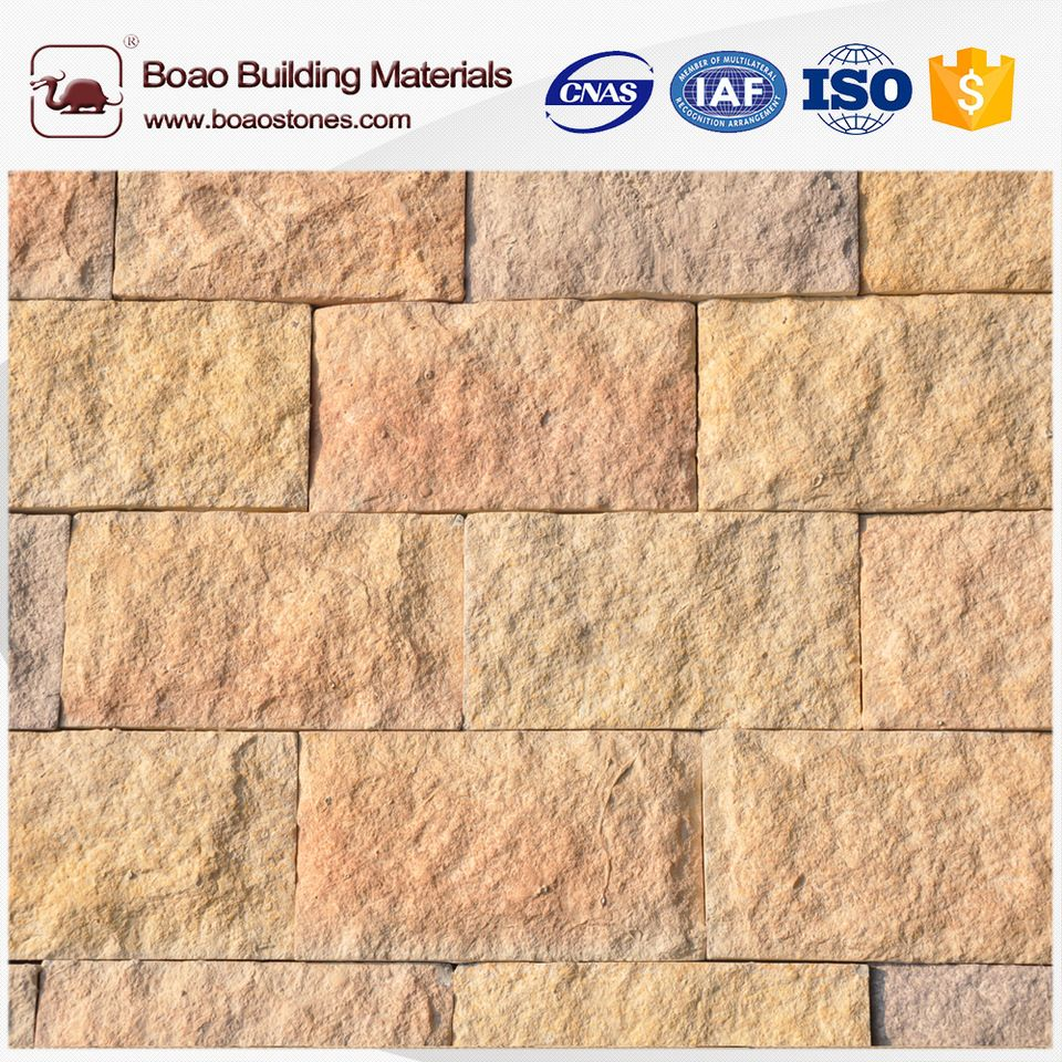 Artificial cultured cobble river rock stone veneer panels lowes ...