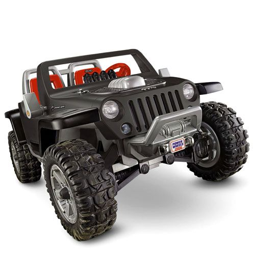 Power Wheels Jeep Hurricane With Monster Traction Black