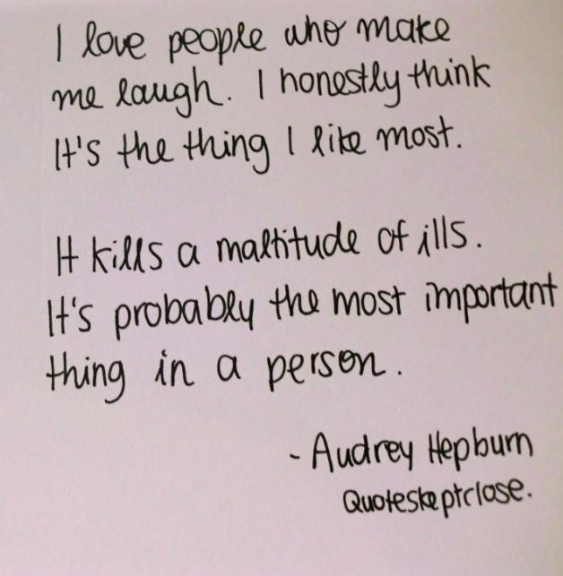 I Love People Who