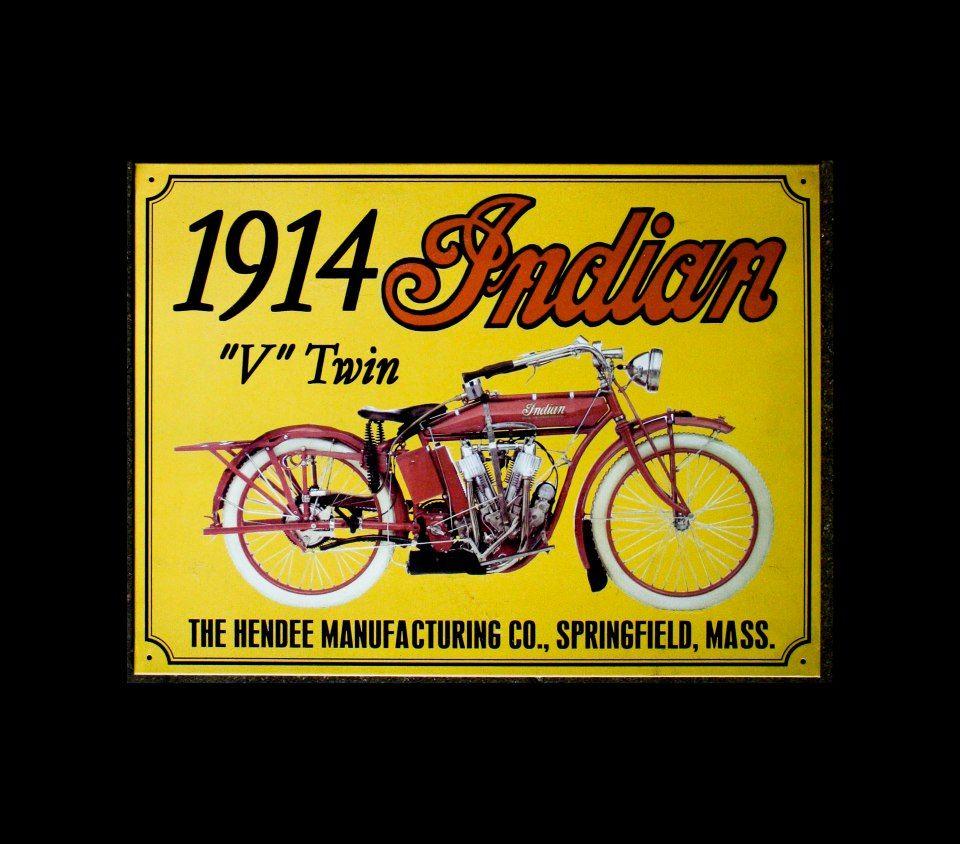 Vintage Tin Sign Yamaha FS1E Moped Motorbike Metal Sign Man Cave
