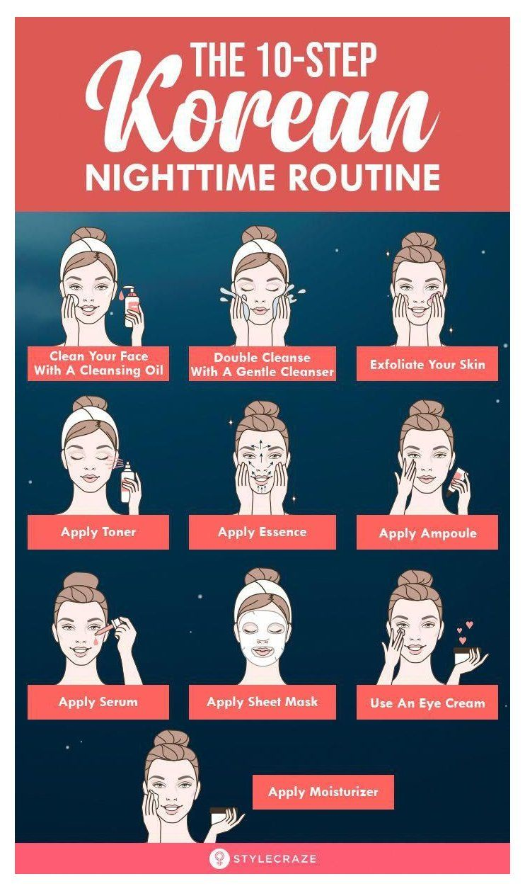 Complete 10 Step Korean Skin Care Routine For Morning And Night Korean Skin Care Ro In 2020 Skin Care Routine Steps Night Skin Care Routine Korean Skincare Routine