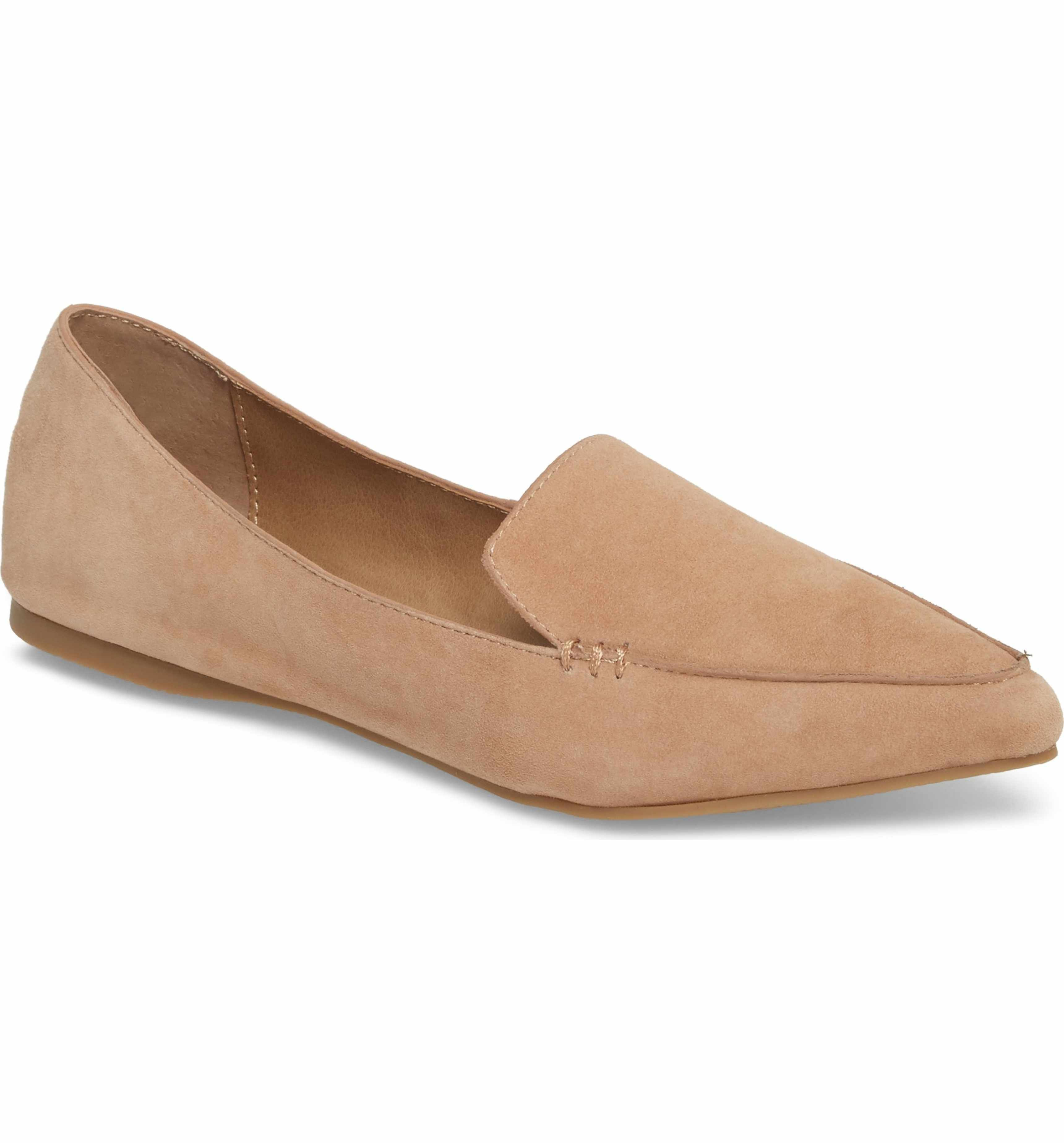 5ab68286fe0 Main Image - Steve Madden Feather Loafer Flat (Women)