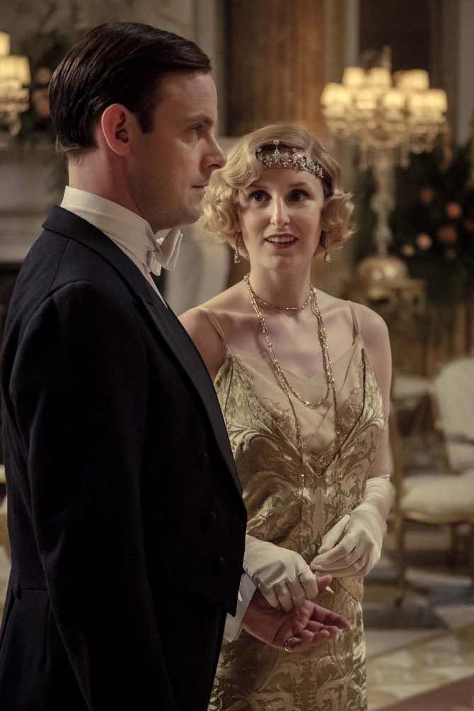Antique Tiaras Tell the Story in Downton Abbey