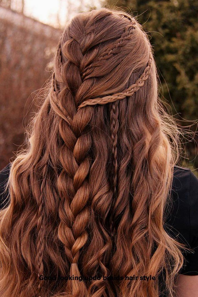 Good looking braid ideas #hairs #updobraid #boxbraidstyles