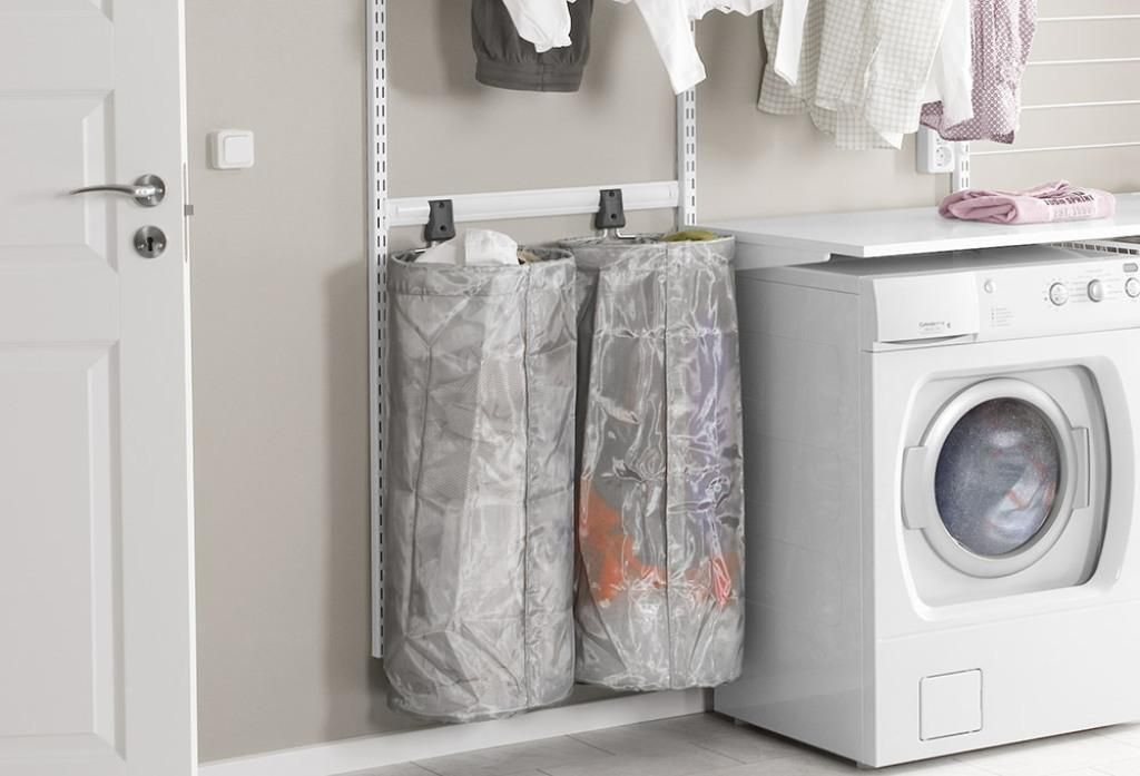 Best Thin Laundry Hamper Ideas In 2020 Small Laundry Rooms