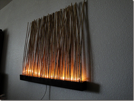 Wall Art With Lights lighted bamboo wall art | wall art inspirationcribs to college